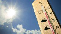 ilustrasi suhu panas